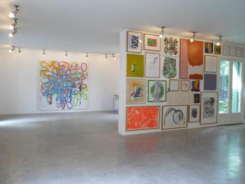 01-Peintures et correspondances, Galerie Vasistas, Montpellier, 2008