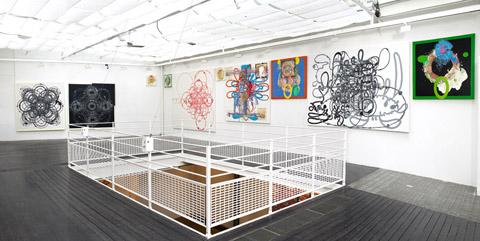 Dominique GAUTHIER Exposition Galerie des Filles du Calvaire 12/2008 - 01/2009