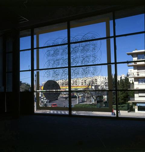 01-9 Hostinatos sur verre, Montpellier, 2000
