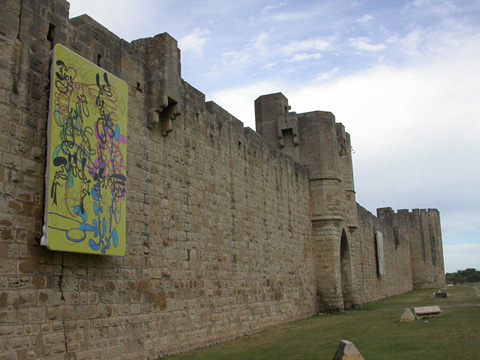 01-Aigues-Mortes, Remparts, 2007